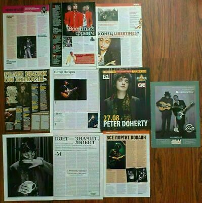PETER DOHERTY The Libertines, Babyshambles Magazine Articles Clippings • 5.12£