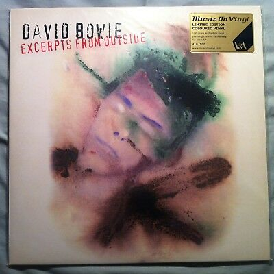 David Bowie - Excerpts From Outside V&a Exhibition Green Vinyl - Unopened & Mint • 399£
