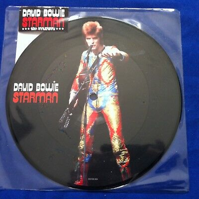 David Bowie - Starman Picture Disc 7  Vinyl Rsd - Very Rare Sealed  • 450£