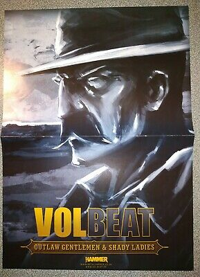 VOLBEAT / HALESTORM Double-sided Poster • 5£