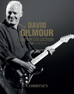 DAVID GILMOUR GUITAR COLLECTION Christie's Auction Catalogue Pink Floyd..  • 65£