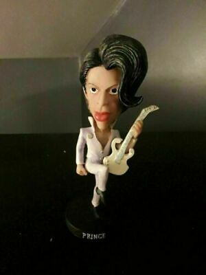 Prince Rogers Nelson Rare Resin Figure Ornament 1980 Perfect Condition • 49.99£