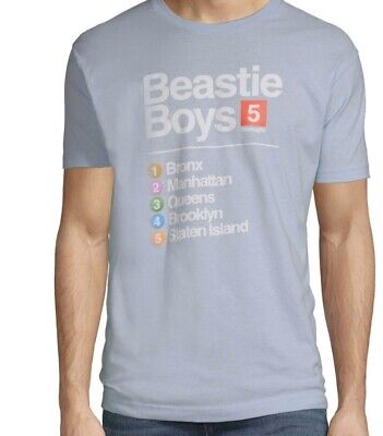 To The 5 Boroughs Beastie Boys Shirt Size Large • 19.30£