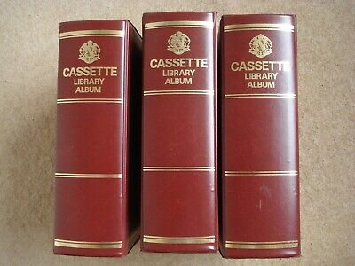 Cassette Tape Storage Library Cases X3 - Look Like Books !  • 1£