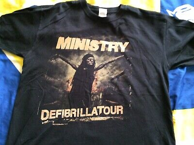 Ministry Defibrillatour Tshirt Size Large • 1.80£