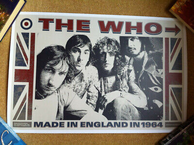 The WHO Poster, From 50th Anniversary Tour • 3.90£