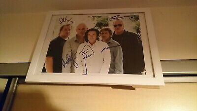 Marillion Signed PHOTO 10x8  Print  • 15£