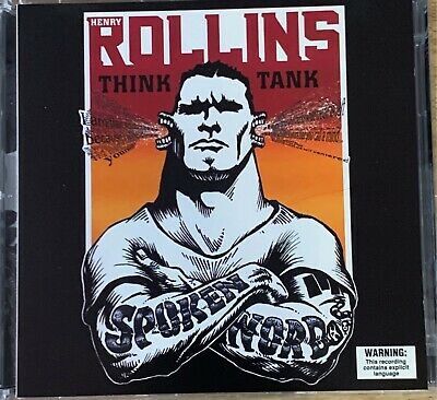 HENRY ROLLINS - Think Tank 2 X CD 1998 Spoken Word Dreamworks Exc Cond! 2CD • 9.08£