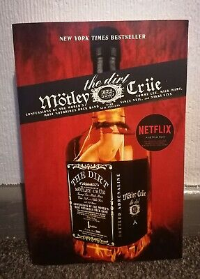 Motley Crue  THE DIRT    Paperback Book 1st Paperback Edition Published 2002 • 1.40£