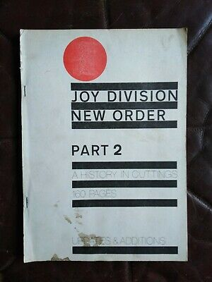 Joy Division / New Order: A History In Cuttings 1977-84 Part 2 • 40£