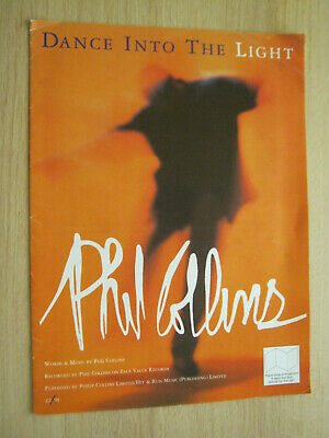 Phil Collins Dance Into The Light Sheet Music • 4.99£