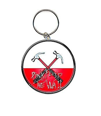 Pink Floyd Keyring Keychain The Wall Hammers Logo New Official Metal One Size • 4.25£