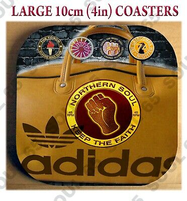 Northern Soul Coaster, Northern Soul Bag, Scooter Coaster, Keep The Faith, Mod • 3.25£