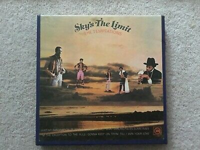The Temptations Sky's The Limit Very Rare Reel To Reel Tape 7.1/2 IPS • 39.99£