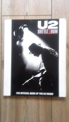 U2 Rattle & Hum Official Book Signed By Bono • 120£