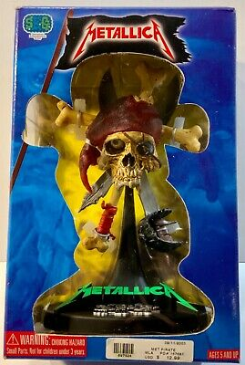 2003 Metallica Damaged Pirate Statue 7  Misp • 60.03£