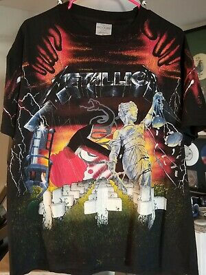 Metallica Brockum T-Shirt & Fillmore Pick And Poster/Print LOT! Rare Combo! • 321.95£