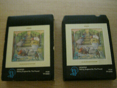 Genesis Selling England By The Pound 8track Cassette Tape • 4.99£