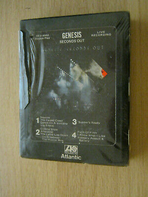 Genesis Seconds Out 8track Cassette Tape • 4.99£
