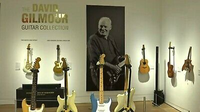 DAVID GILMOUR GUITAR COLLECTION ~ Christie's Auction Catalogue Book • 75£