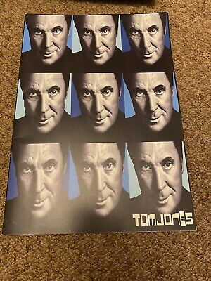 TOM JONES Live Tour 2003 CONCERT/TOUR PROGRAMME • 3£