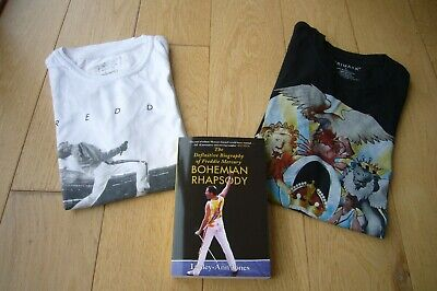 Queen Freddie Mercury T Shirts And Book Bundle - Lovely! • 19.50£