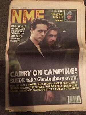 NME Magazine 26th June 1993 Suede • 0.99£