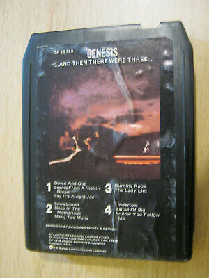 Genesis And Then There Were Three Usa 8track Cartridge RARE • 5.99£