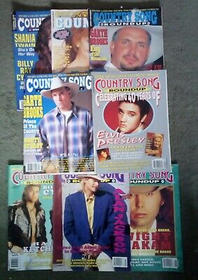 Country Song Roundup Magazine 26 Copies Between April 1992 To December 1996 • 26£