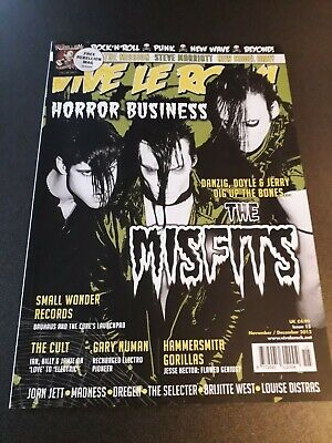MISFITS - Vive Le Rock Magazine 2013 - Great Interview Feature (Jerry / Doyle) • 1.50£