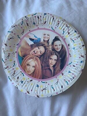 Spice Girls Paper Plate • 0.10£