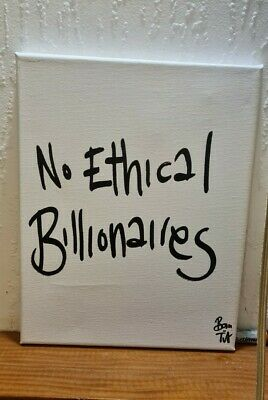 Canvas Art - No Ethical Billionaires By Beans On Toast • 5£