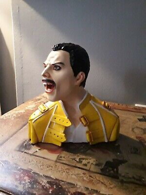 Freddie Mercury Queen Ceramic Bust Perfect Condition Boxed • 299.99£