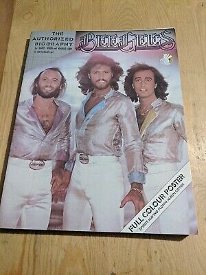Unused Poster 1979 Bee Gees Softcover Book 160 Pages • 20£