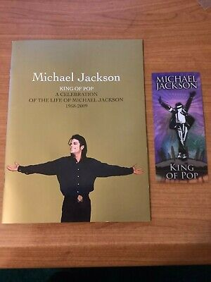 Michael Jackson This Is It Tour Memorial Ticket & Program 7/16/09 Second Night! • 0.99£