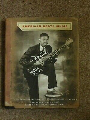 American Roots Music.... Large Hard Back Book..b.b. King On Cover.275 Illustions • 10£
