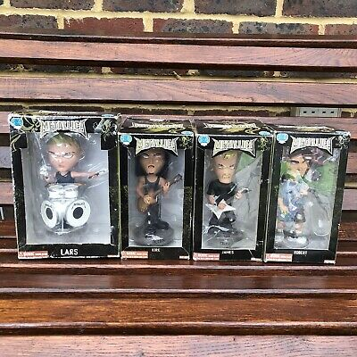 Metallica Bobble Head Complete Set With Boxes - SEG 2003- ULTRA RARE • 100£