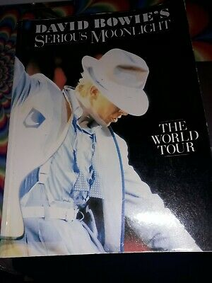David Bowie's Serious Moonlight The World Tour Book • 5£