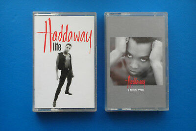 1993 Haddaway Life I Miss You Logic Records Music Cassette Tapes • 3.50£
