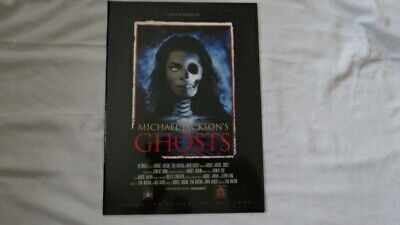 **michael Jackson - Ghosts Programme - Very Rare • 75£