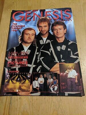 1987 Genesis Special Phil Collins 60 Pages Invisible Tour  • 14£