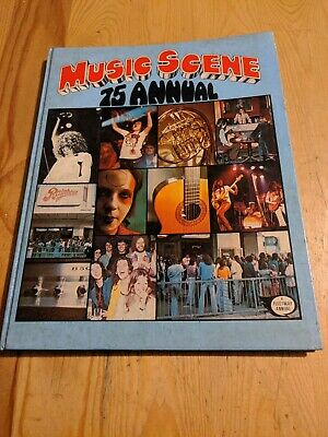 1975 Music Scene Annual Glam Rock David Bowie Prog Yes Pink Floyd Deep Purple • 14£
