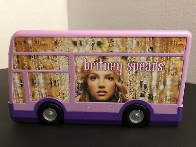 Vintage Britney Spears Music Tour Bus Playhouse Toy + Accessories • 71.52£