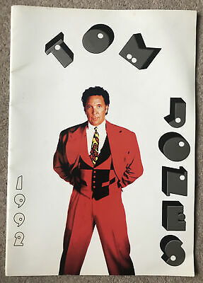 Tom Jones Souveneir Brochure 1992 • 9.99£