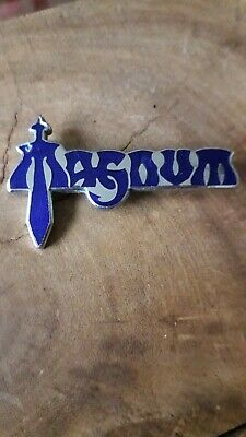 Rare Original Magnum Metal Pin Badge   • 5£