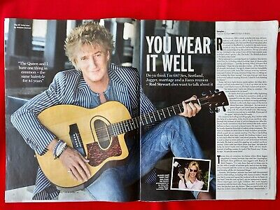 Rod Stewart ~ I'm Better Than Jagger ~ Radio Times Article Jul 2013 ~ Exclusive  • 1.50£