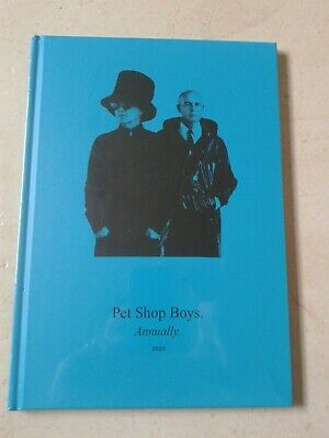 Pet Shop Boys Annually 2020 Book (Excludes CD) • 24.75£