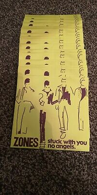 Zones - Stuck With You - No Angels 7'' Single Vinyl Record 1978 Zum 4 Punk Uk • 2.50£