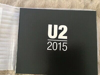 U2 Limited Edition Commemorative Book. 2015 Innocence & Experience Tour  • 75£