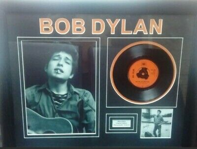 Bob Dylan 'Watching The River Flow' Signed Framed EP • 10£